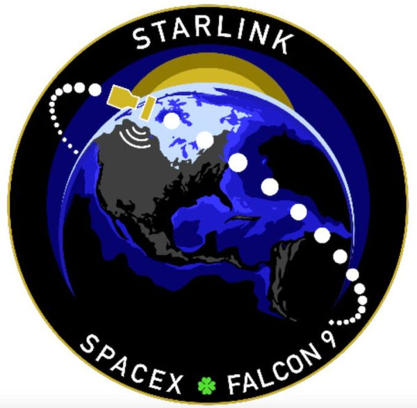 SPACEX STARLINK MISSION PATCH - The Space Store