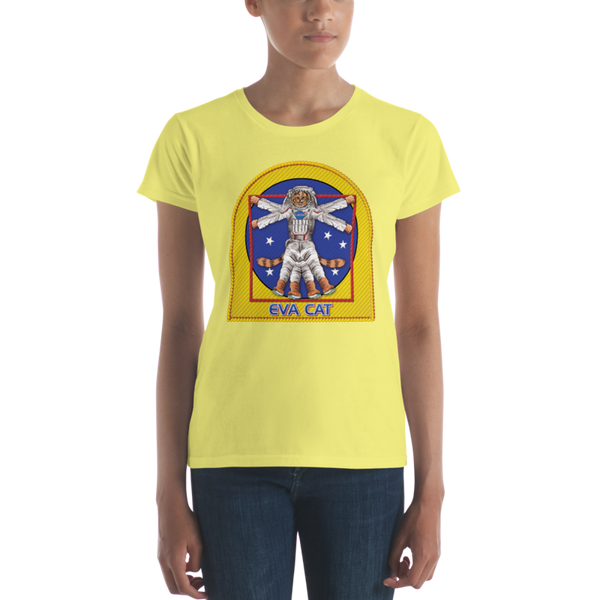 EVA CAT T-Shirt in Ladies Cut