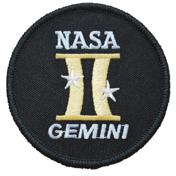 8 Inch Gemini Program Patch - The Space Store