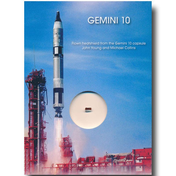 Gemini 10  Flown Heatshield - The Space Store