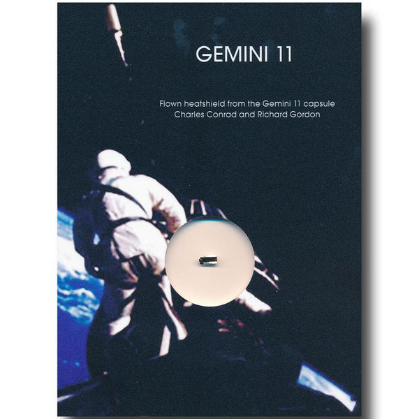 Gemini 11  Flown Heatshield - The Space Store