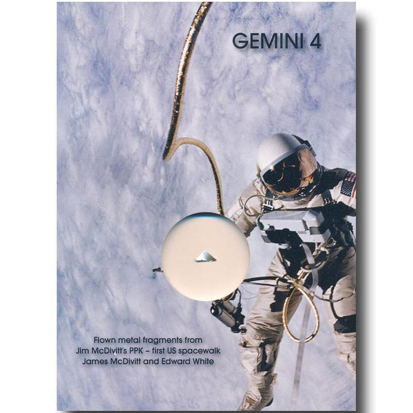 Gemini 4  Flown Heatshield - The Space Store