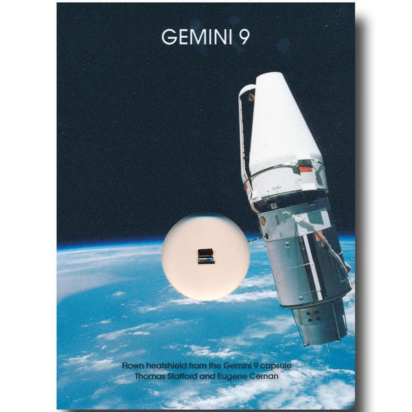 Gemini 9  Flown Heatshield - The Space Store