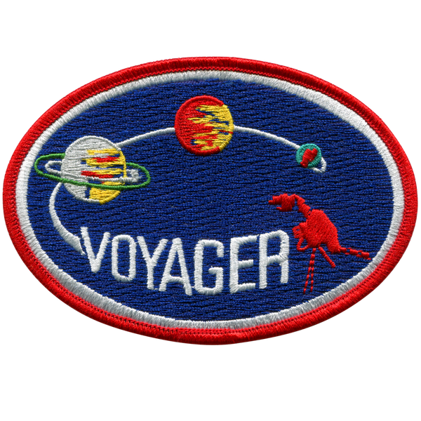 Voyager Mission Patch - The Space Store