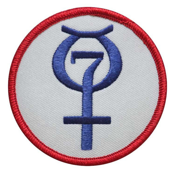 8 Inch Mercury Program Patch