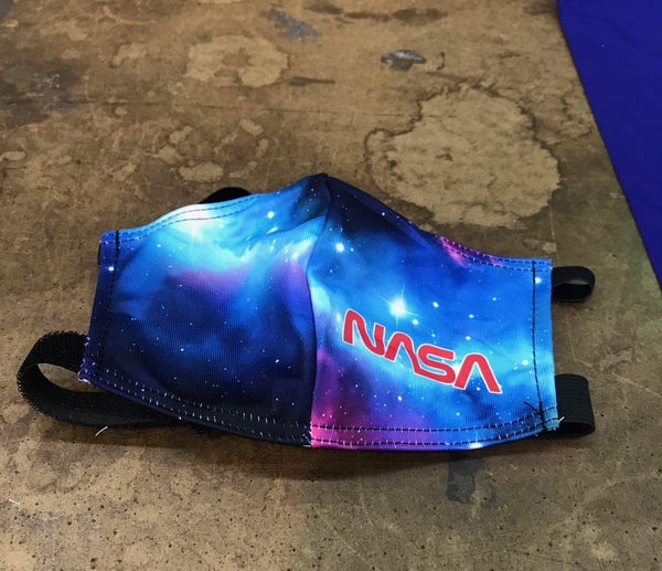NASA Face Mask with contoured fitting in Adult and Youth sizing