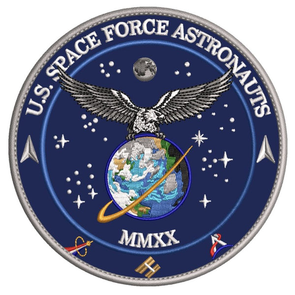 US Space Force Astronauts Patch by Artist Tim Gagnon