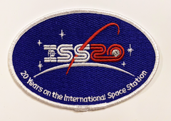 International Space Station 20 Years Commemorative Patch