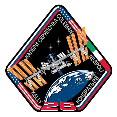 "Expedition 26 Mission 4"" Patch - The Space Store"