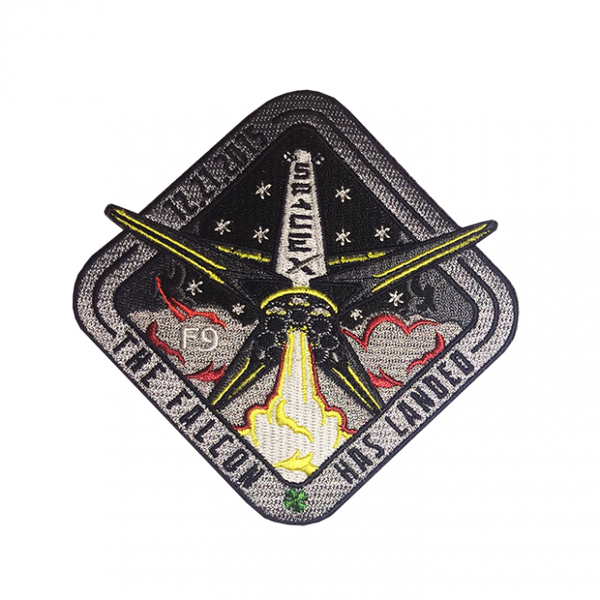 SPACEX FALCON 9 LANDING PATCH - The Space Store