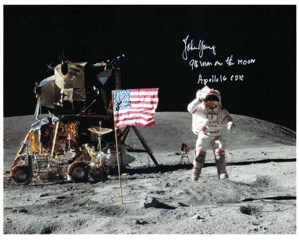 John Young signed photo - The Space Store