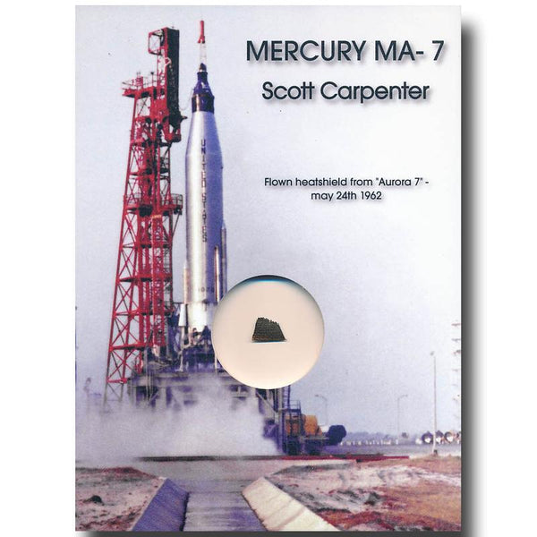 Mercury MA-7 Faith 7 - Flown Heatshield - The Space Store
