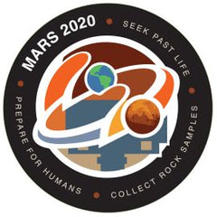 NASA JPL - MARS 2020 Perseverance Rover - Exploration Program Mission Sticker