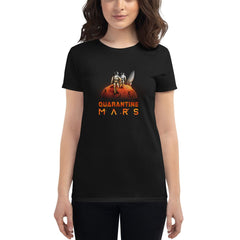 'Quarantine Mars' Women's Fashion Fit Anvil 880 Shirt