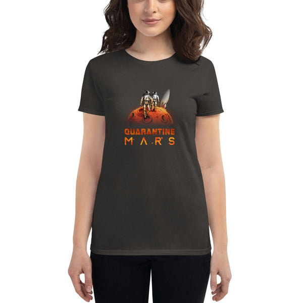 'Quarantine Mars' Women's Fashion Fit Anvil 880 Shirt - The Space Store