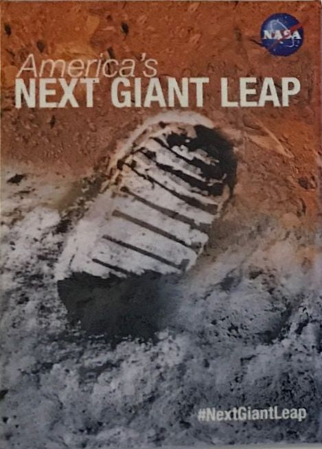 'NEXT GIANT LEAP' - MARS MAGNET - The Space Store