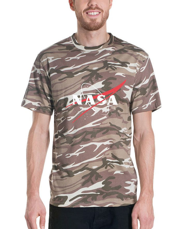 NASA 'VECTOR LOGO'  CAMOUFLAGE T-SHIRT