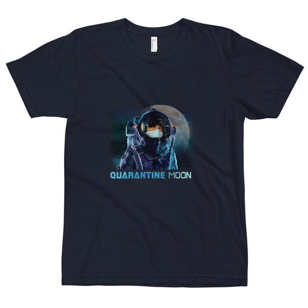 'Quarantine Moon' short sleeve shirt in adult sizing - The Space Store