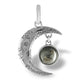 Moon Pendant with real lunar meteorite granules