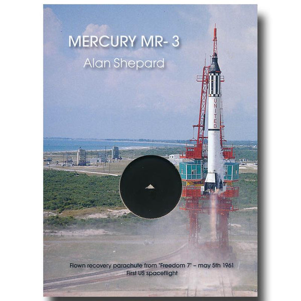 MERCURY MR-3 FLOWN PARACHUTE PRESENTATION - The Space Store