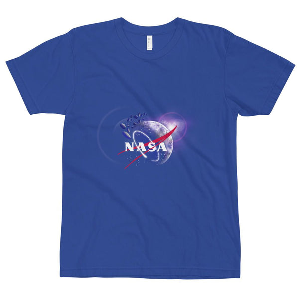 NASA Shirt Design adult sizing on American Apparel 2001