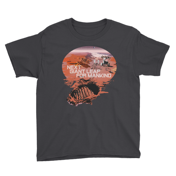 MARS - 'NEXT GIANT LEAP FOR MANKIND' - YOUTH SHIRT - The Space Store