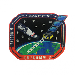 SPACEX  F9 ORBCOMM-2 MISSION PATCH