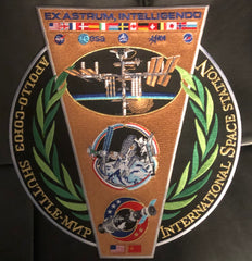 "International Cooperation Commemorative 8"" x 10"" Patch"