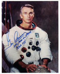 Gene Cernan  signed WSS photo