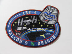 SpaceX CRS 4 Mission Patch