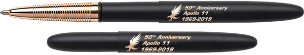 Special Edition Apollo 11 50th Anniversary Matte Black Bullet Space Pen - The Space Store