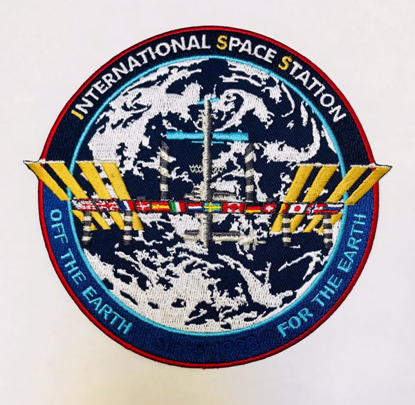 "International Space Station Commemorative 5"" Patch"