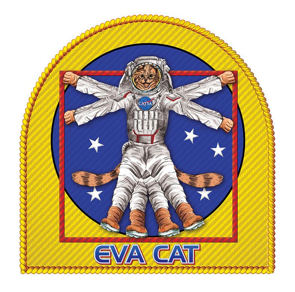 'EVA CAT'  ADULT UNISEX T-SHIRT - The Space Store