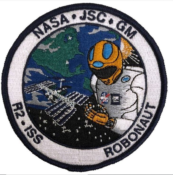 R2 ISS Robonaut Patch - The Space Store