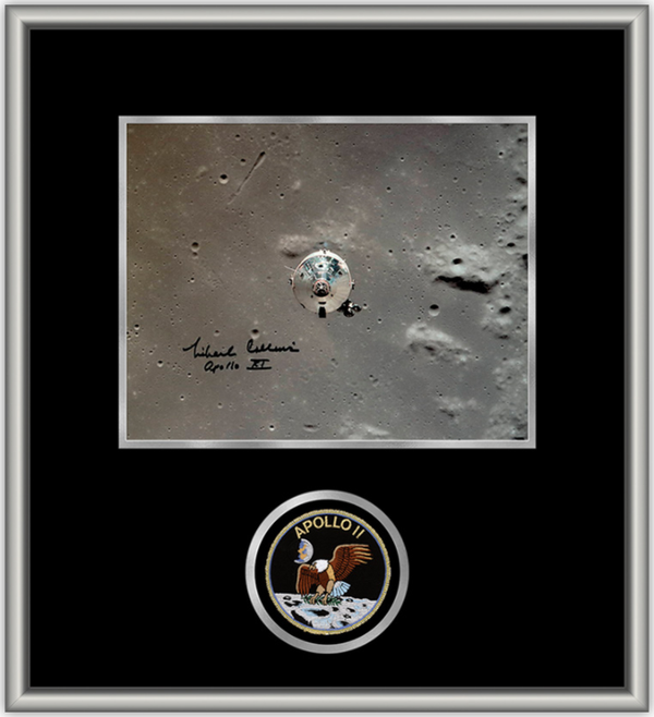 Michael Collins 'Columbia'  8×10 Autographed Framed Photo