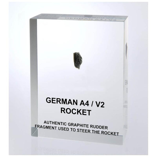 V2 / A4 Peenemunde Rocket Graphite Rudder Acrylic - The Space Store