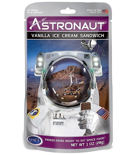 ASTRONAUT ICE CREAM SANDWICH - VANILLA - The Space Store