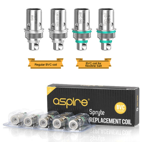 Aspire BVC General Use Coils - 5pk.
