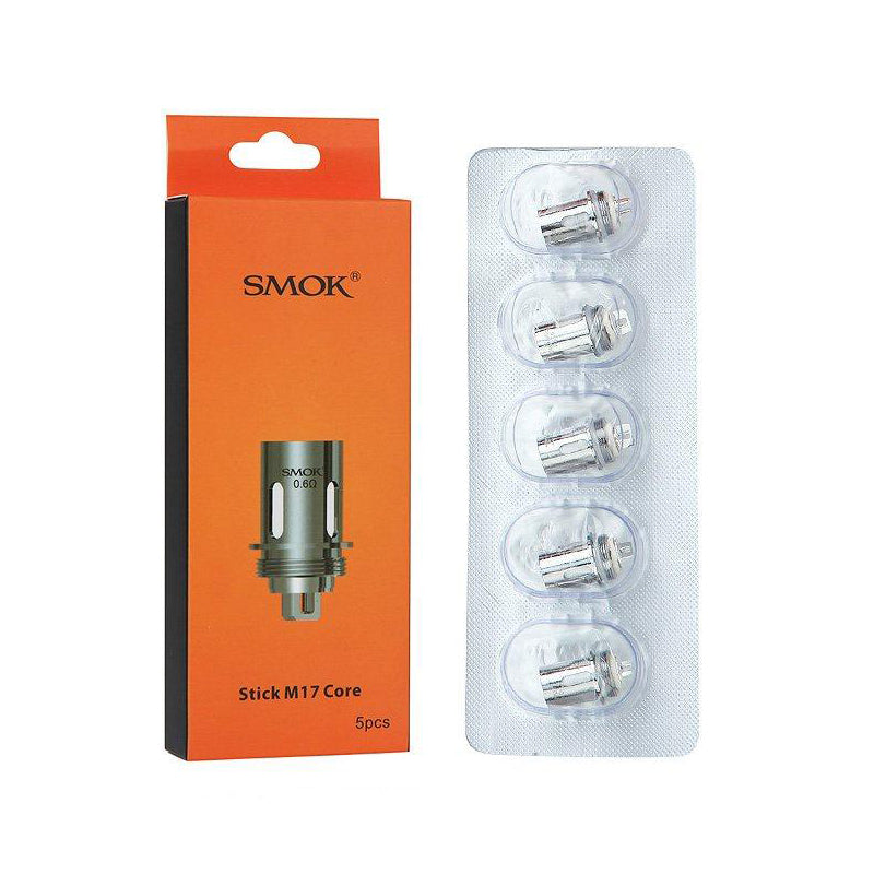 SMOK Stick M17 Replacement Dual Coil 5pk.