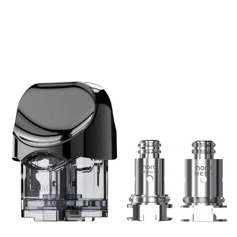Smok Nord Replacement Pod/Tank with coils - 1pc.