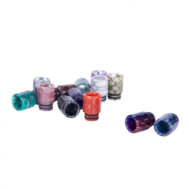 Drip Tips Assorted Colors - 510 & 810