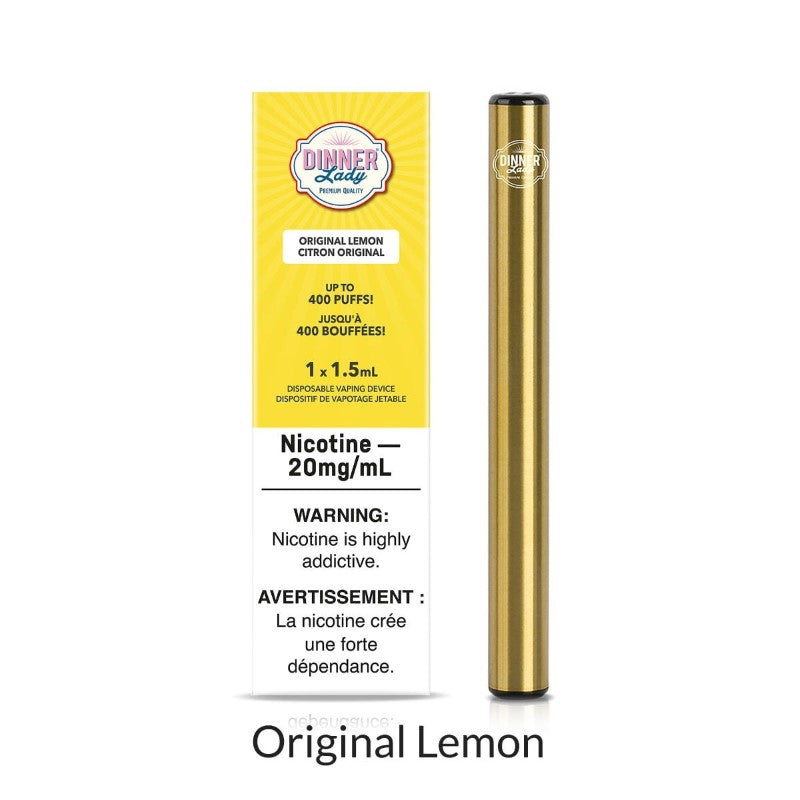 Dinner Lady Disposable - Original Lemon - 1pc.
