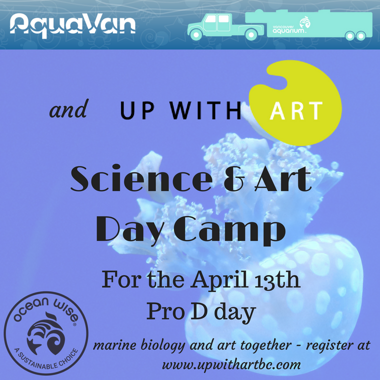 Science and Art Camp with Van Aqua - April 13th