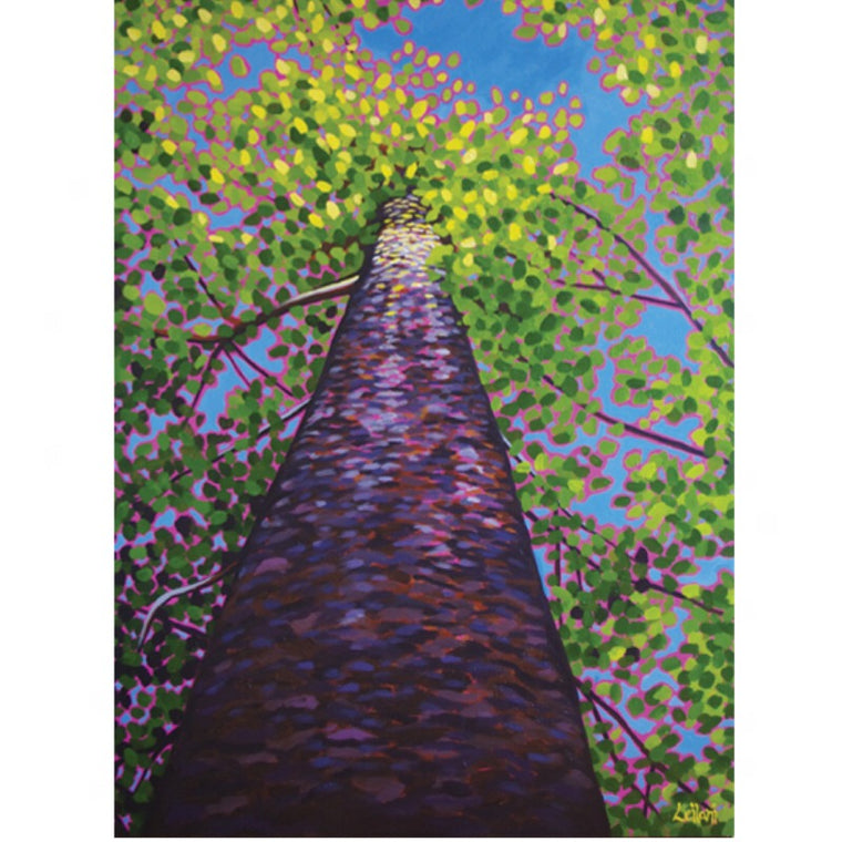 Acrylic Painting Class with Leilani - Painting Trees | 5pm-7pm