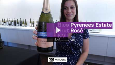 NV Blue Pyrenees Estate Brut Rose