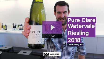2018 Pure Clare Watervale Riesling