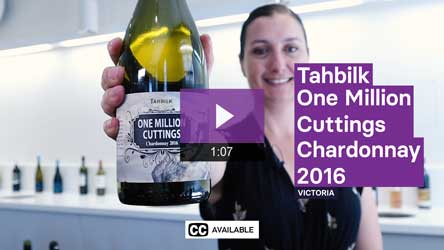 2016 Tahbilk One Million Cuttings Chardonnay
