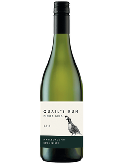 2015 Quails Run Marlborough Pinot Gris
