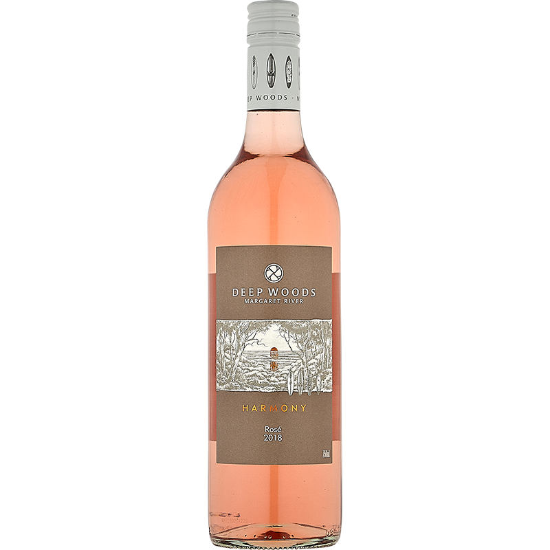 2018 Deep Woods Harmony Margaret River Rose