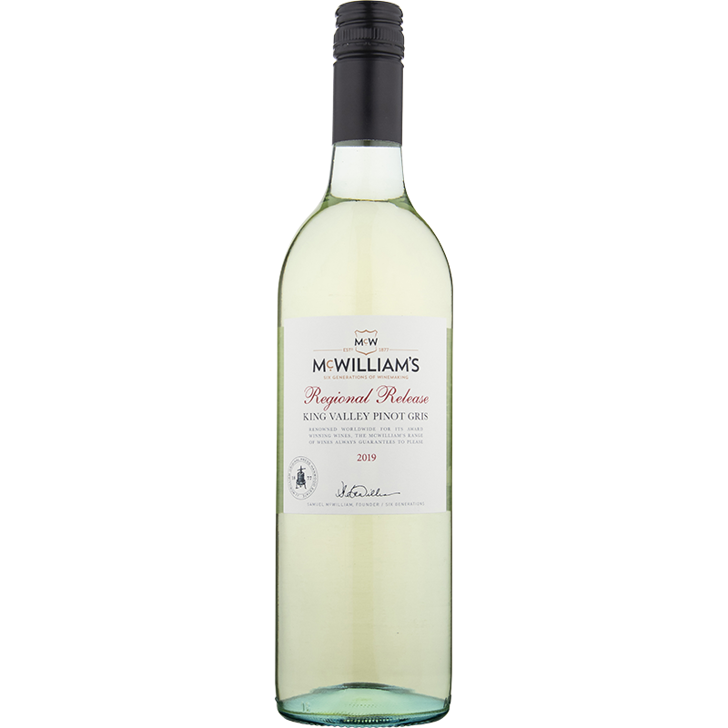 2019 McWilliams Regional Release Pinot Gris
